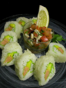 Kaido Sushi Grass Valley Aztecas Sushi Roll