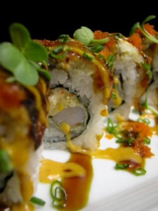 Kaido Sushi Grass Valley Rockabilly Sushi Roll