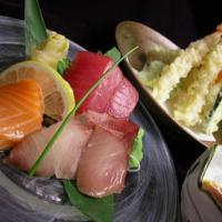 Tempura & Sashimi